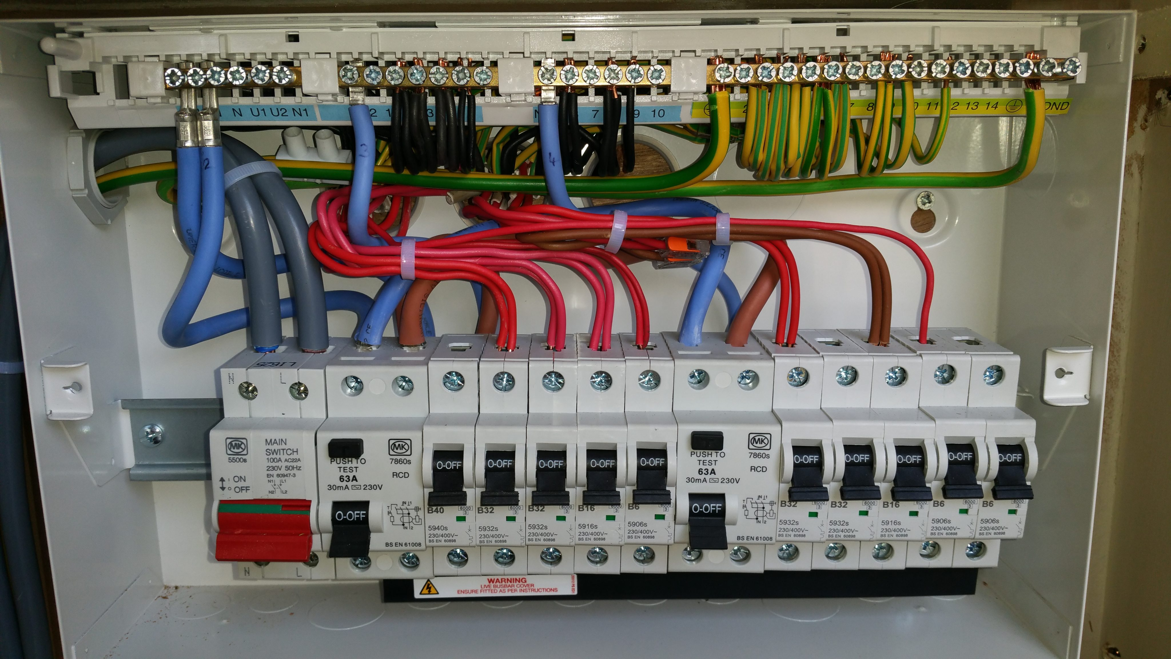 Domestic Electrical Wiring Diagram