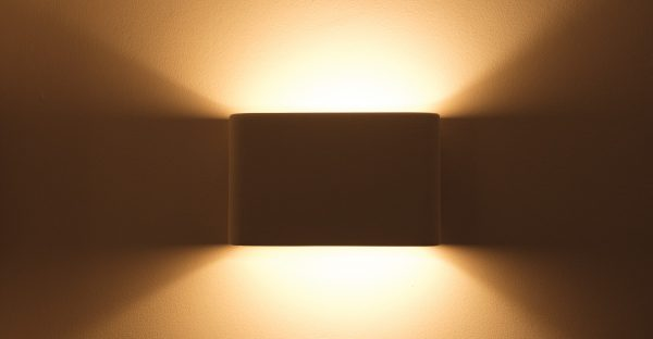 Self Colour Ceramic Wall Lights