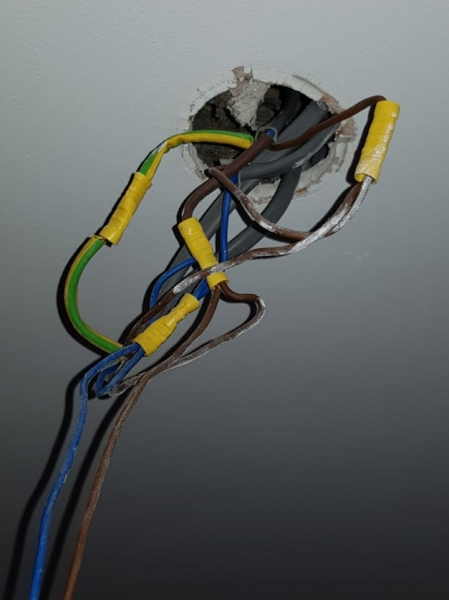 Bad Wiring Downlight