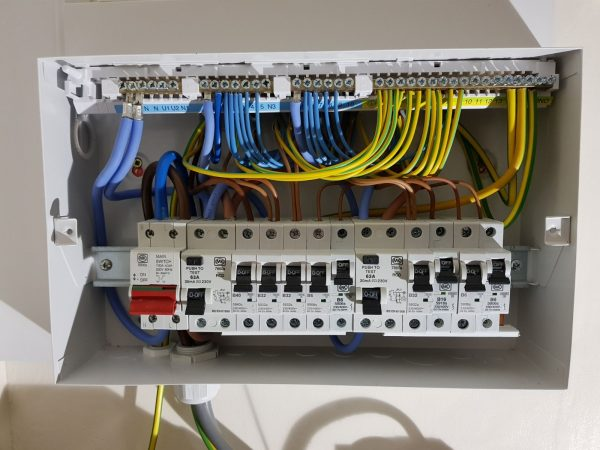 Image 2 of 2: Fuse board wired perfectly and ready for testing
