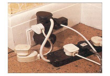 Overloaded socket