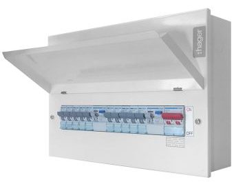 18th Edition Consumer Unit with RCBO Protection and Surge Power Protection