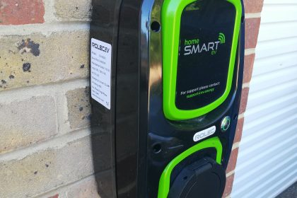 Rolect HomeSmart chargepoint