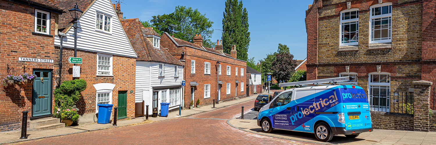 Prolectrical - Commercial & Domestic Electrician covering Faversham, Canterbury & Whitstable