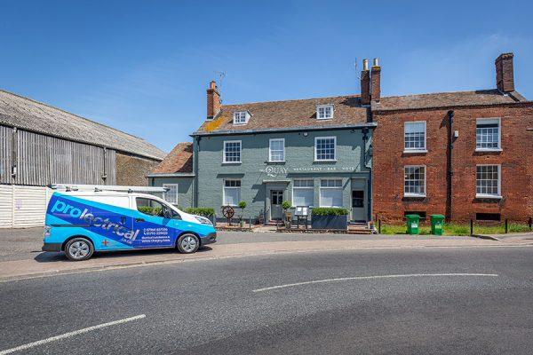 Local Faversham Electrician, Kent